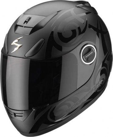 Capacete Scorpion Exo 750 Tribal Black Matt  - Motosports