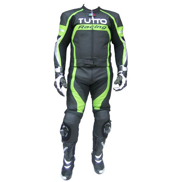 Macacão Tutto Moto Racing 2 pçs Verde  - Motosports