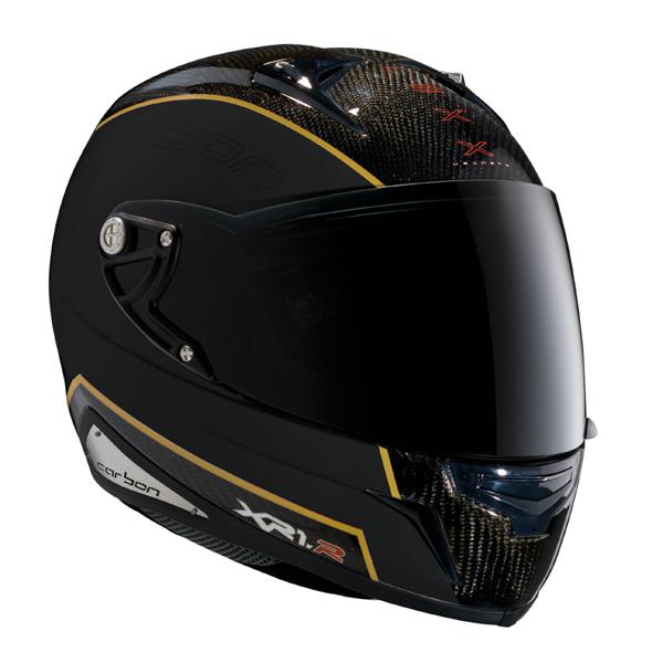 Capacete Nexx XR1R Carbon Preto c/ Dourado  - Motosports