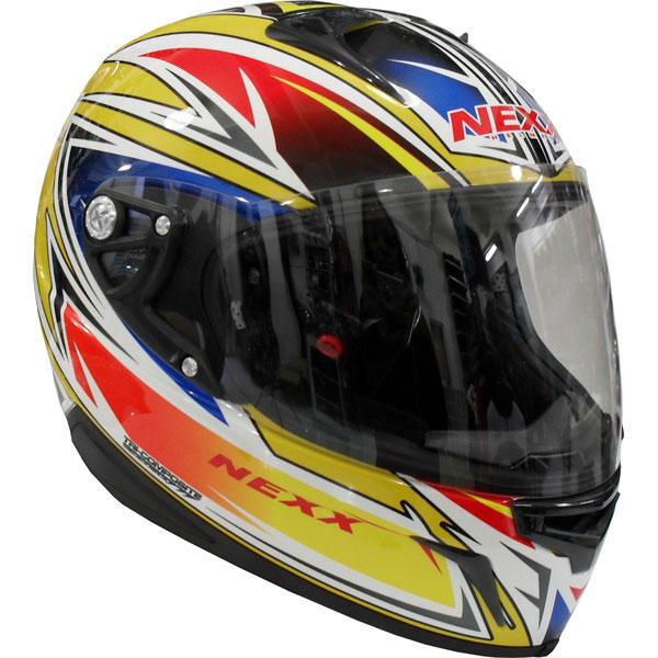 Capacete Nexx XR1R Racer Amarelo  - Motosports