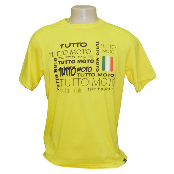 Camiseta Tutto Moto Amarela  - Motosports