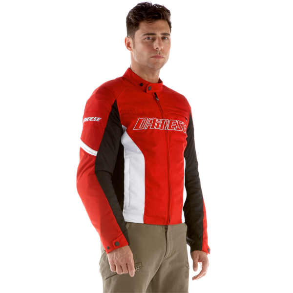 Jaqueta Dainese Racing D-Dry - Red / White  - Motosports