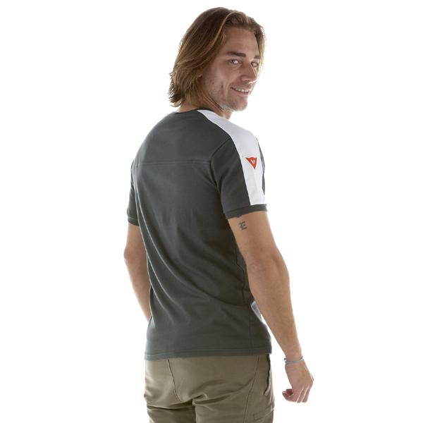 Camiseta Dainese Racing Service Evo S/S - Cinza  - Motosports