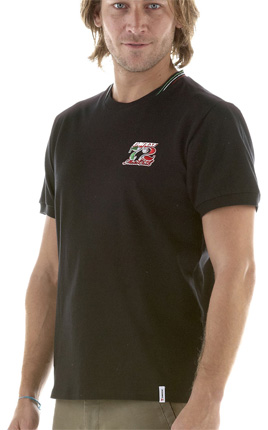 Camiseta Dainese Mugello Evo S/S - Preta  - Motosports