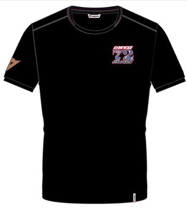 Camiseta Dainese Phillip Island Evo S/S - Preta  - Motosports