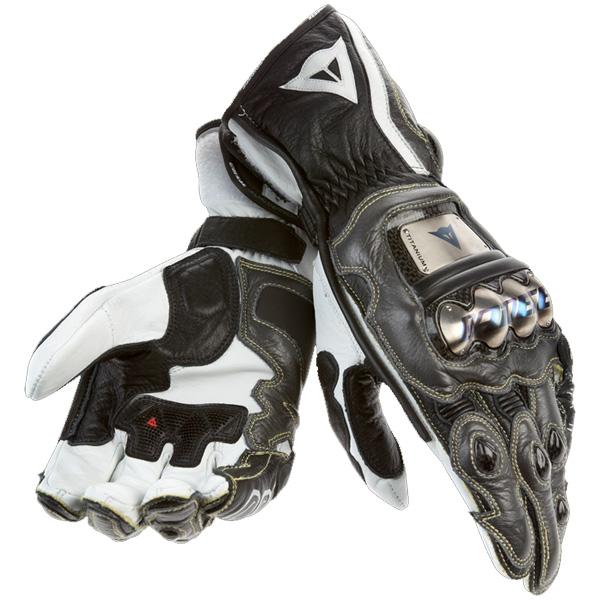 Luva Dainese Full Metal Pro - Carbono c/ Preto  - Motosports