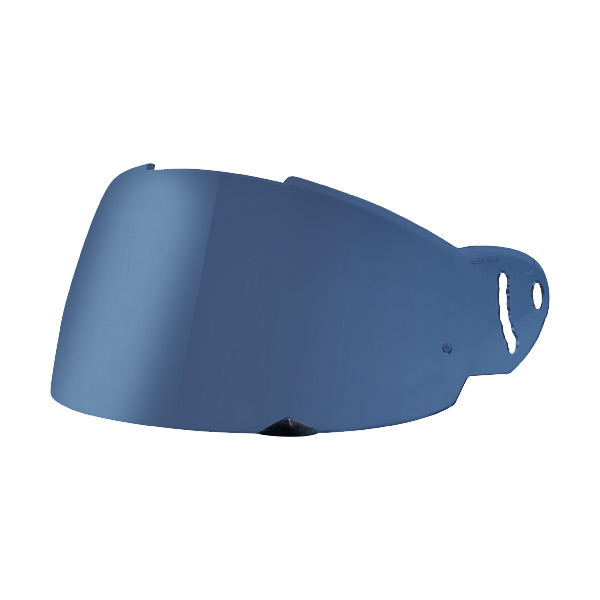 Viseira Capacete Nexx Fechado (XR1R) - Espelhada Azul  - Motosports