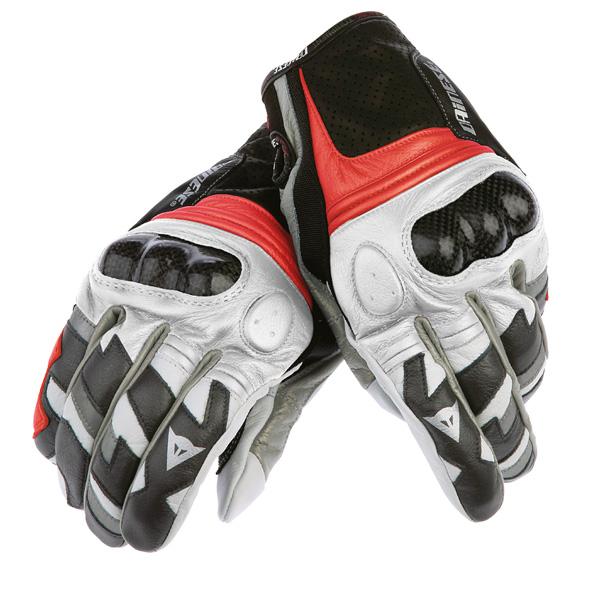 Luva Dainese Blaster - Black / Red / White  - Motosports