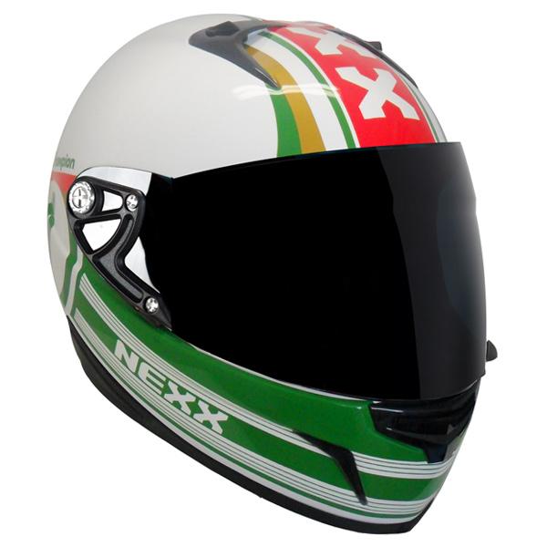 CAPACETE NEXX XR1R RAZOR Champion Italia Promoção válida enquanto durarem os estoques  - Motosports