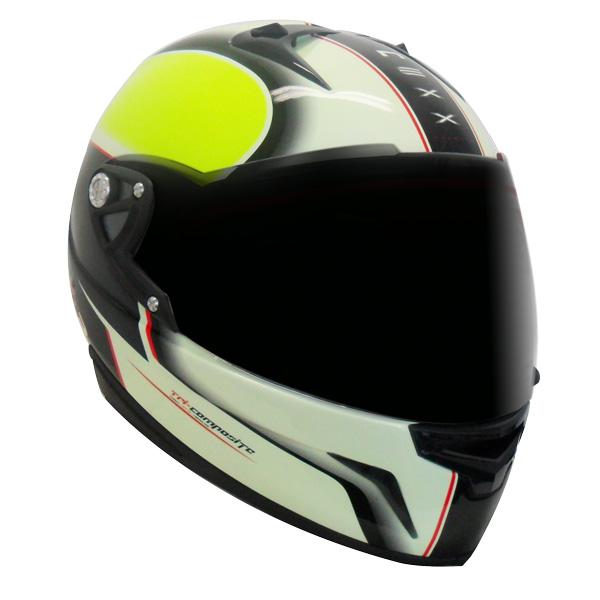 Capacete Nexx XR1R Motion NEON AMARELO  - Motosports