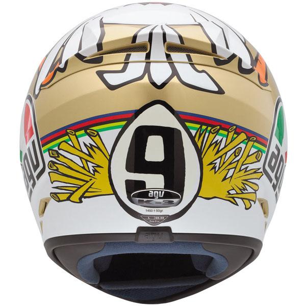 CAPACETE AGV K3 RÉPLICA VALENTINO ROSSI - THE CHICKEN  - Motosports