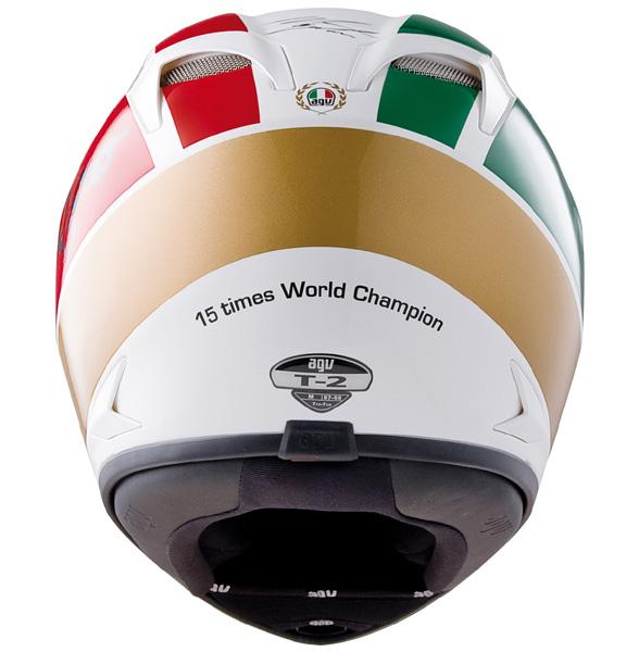 Capacete AGV T-2 Giacomo Agostini  - Motosports