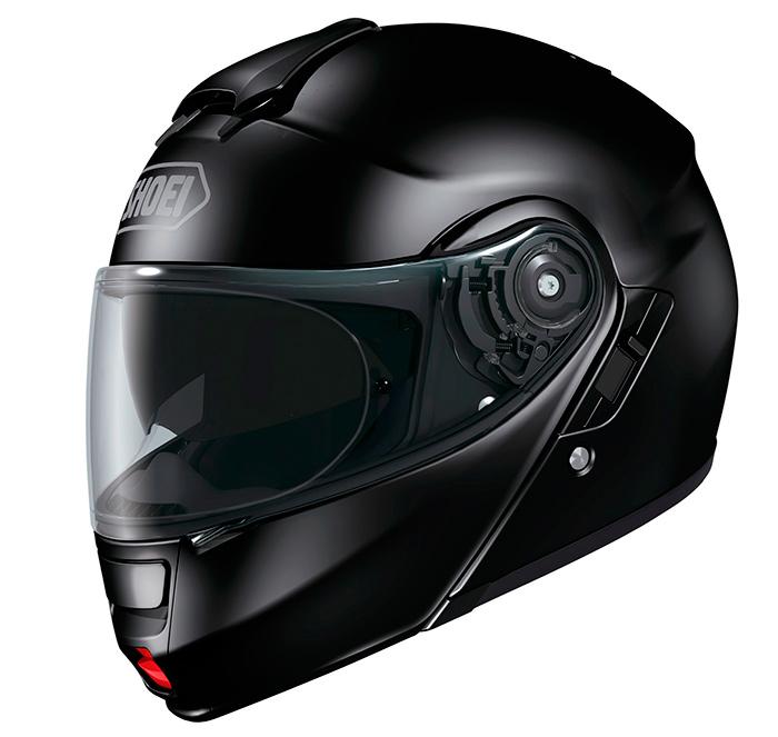 Capacete Shoei Neotec Black brilho - Só 56 Escamoteável MegaOferta!   - Motosports