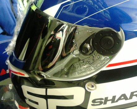 VISEIRA SHARK SPEED-R PRATA  - Motosports
