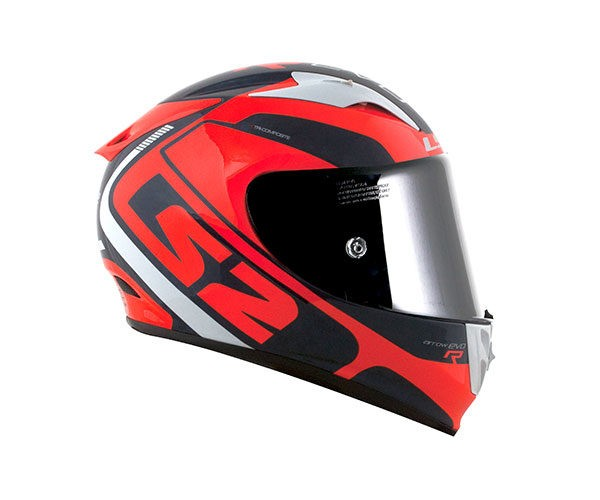 ARROW C EVO STING AZUL / LARANJA FLUO   - Motosports