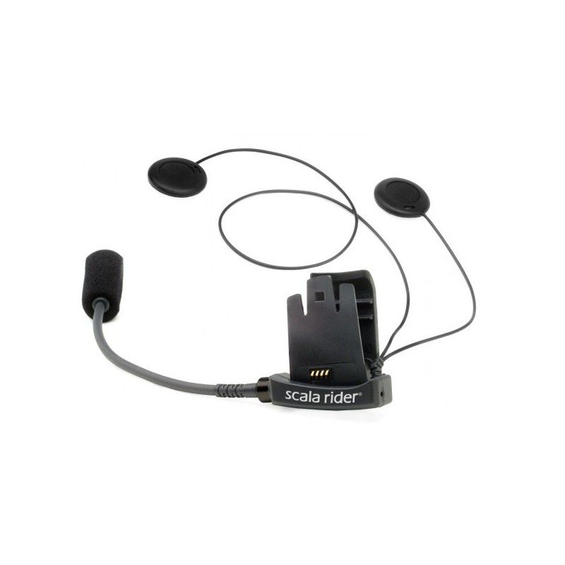 Áudio & Microphone Kit for Scala Rider TeamSet / TeamSet pro / Q2 / Q2 pro   - Motosports