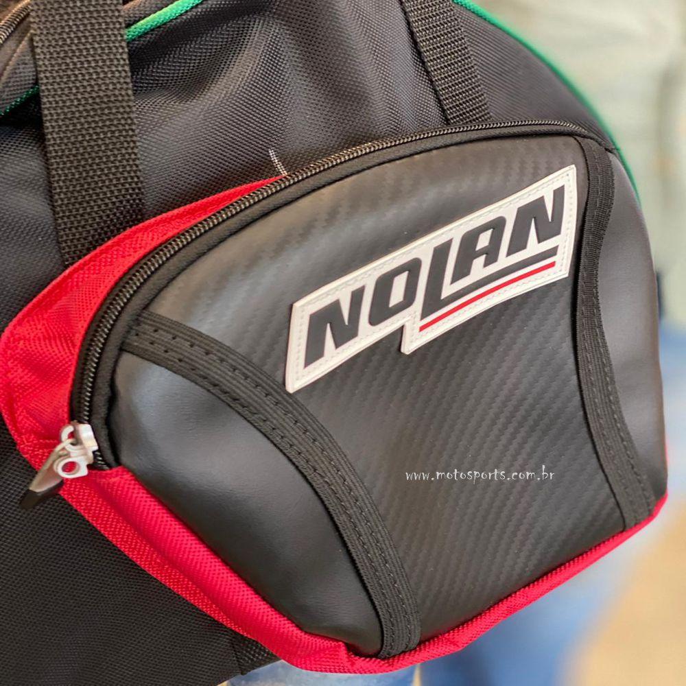 Bolsa porta Capacete Nolan forrada  - Motosports