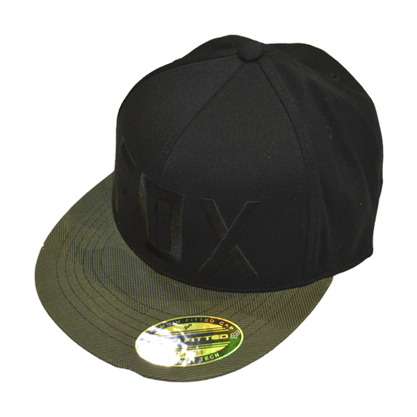 BONÉ FOX COLUM 210 FITTED BLACK  - Motosports