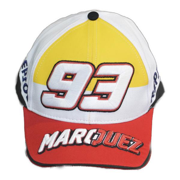 Boné Marc Marquez 93 Branco  - Motosports