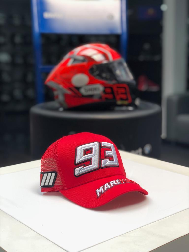 BONÉ MARC MÁRQUEZ VERMELHO  - Motosports