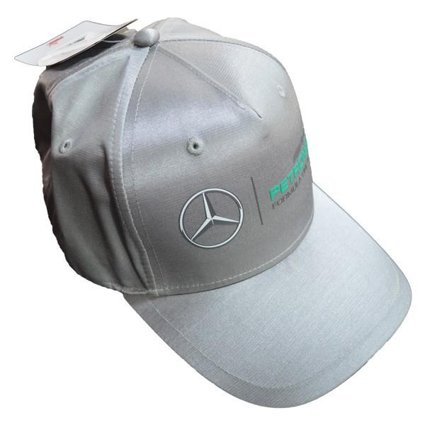 Boné Mercedes-Benz Cinza  - Motosports