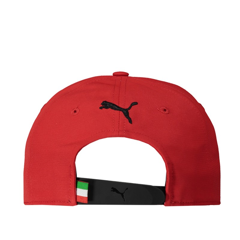 Boné Puma Ferrari Fanwear Baseball Vermelho  - Motosports