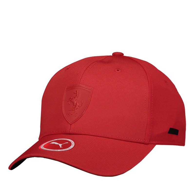 Boné Puma Scuderia Ferrari LS Baseball Vermelho  - Motosports