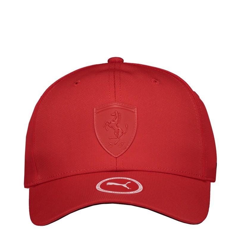 Boné Puma Scuderia Ferrari LS Baseball Vermelho - Motosport Part´s e ... 2427eedb2ad