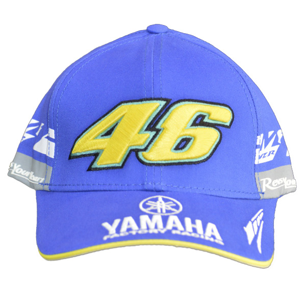 Boné Valentino Rossi yamaha azul  - Motosports