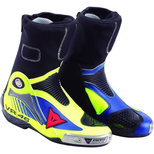 BOTA DAINESE AXIAL D1 RÉPLICA VALENTINO ROSSI   - Motosports