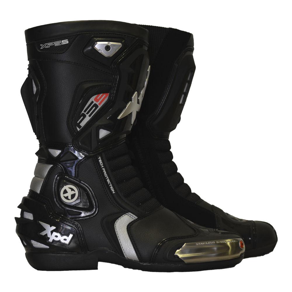 Bota Spidi XPD XP5-S WRS Preta  - Motosports
