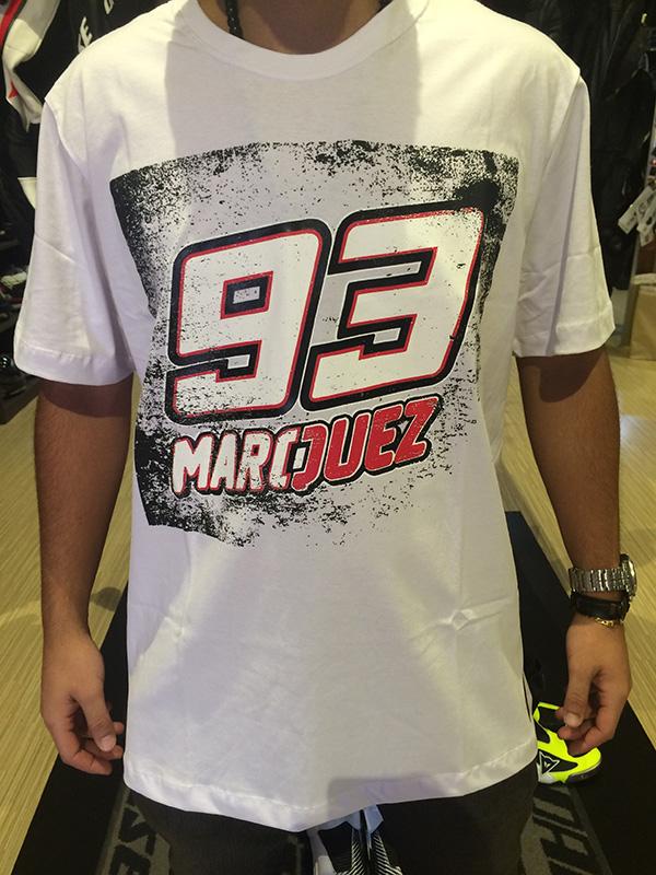 CAMISETA Marc Marquez Branca  - Motosports