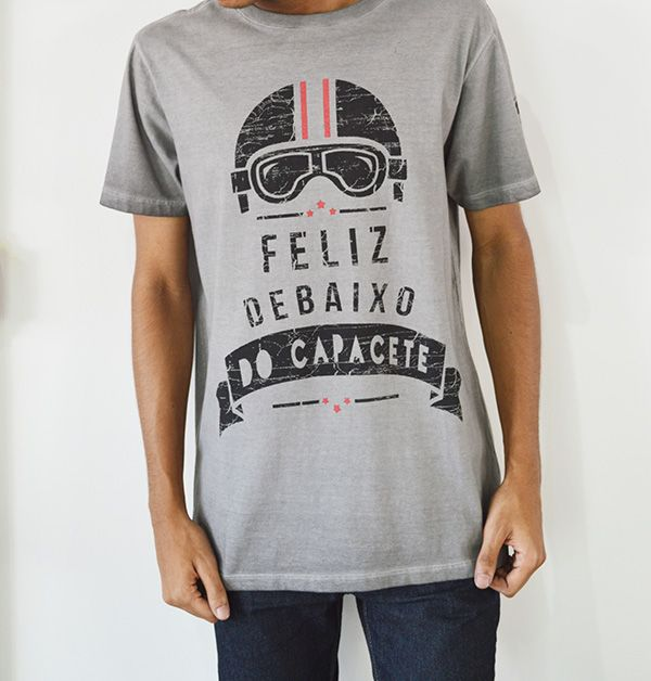 CAMISETA 2MT MOTORSPORTS FELIZ DEBAIXO   - Motosports
