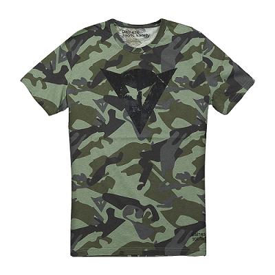 Camiseta Dainese CAMUFLADA  - Motosports