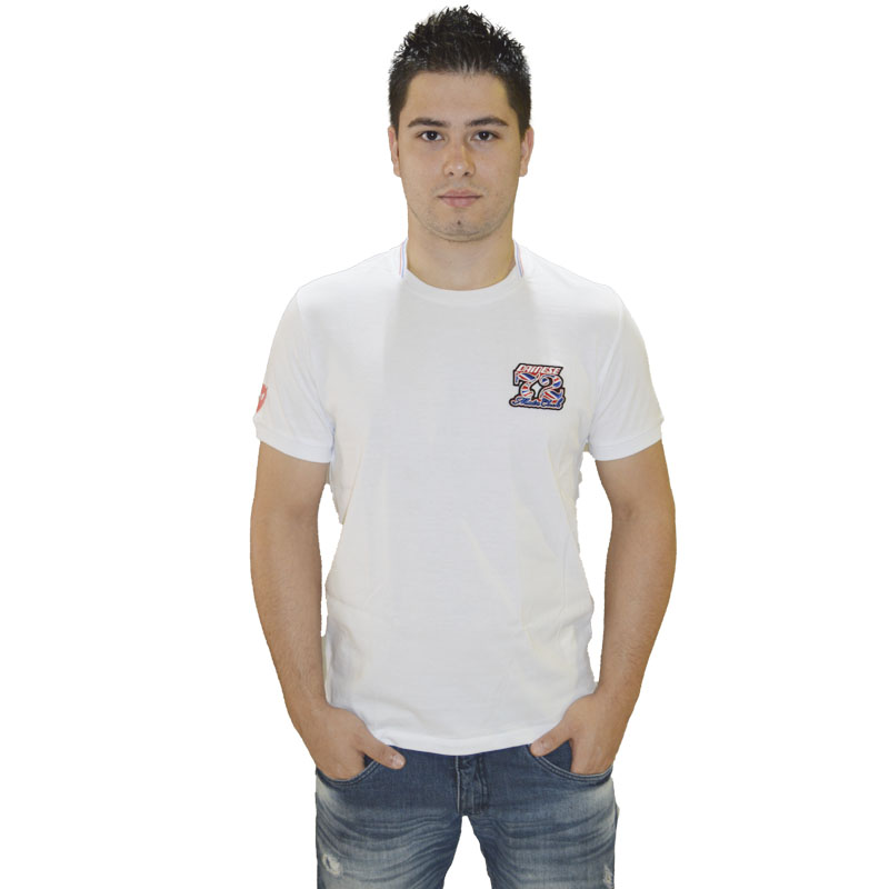 Camiseta Dainese Donington Evo S/S - Branca  - Motosports