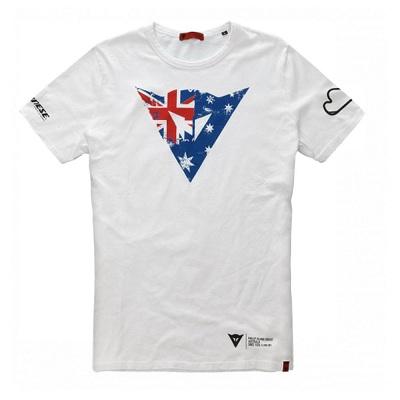Camiseta Dainese Flag Mugello Bianco  - Motosports