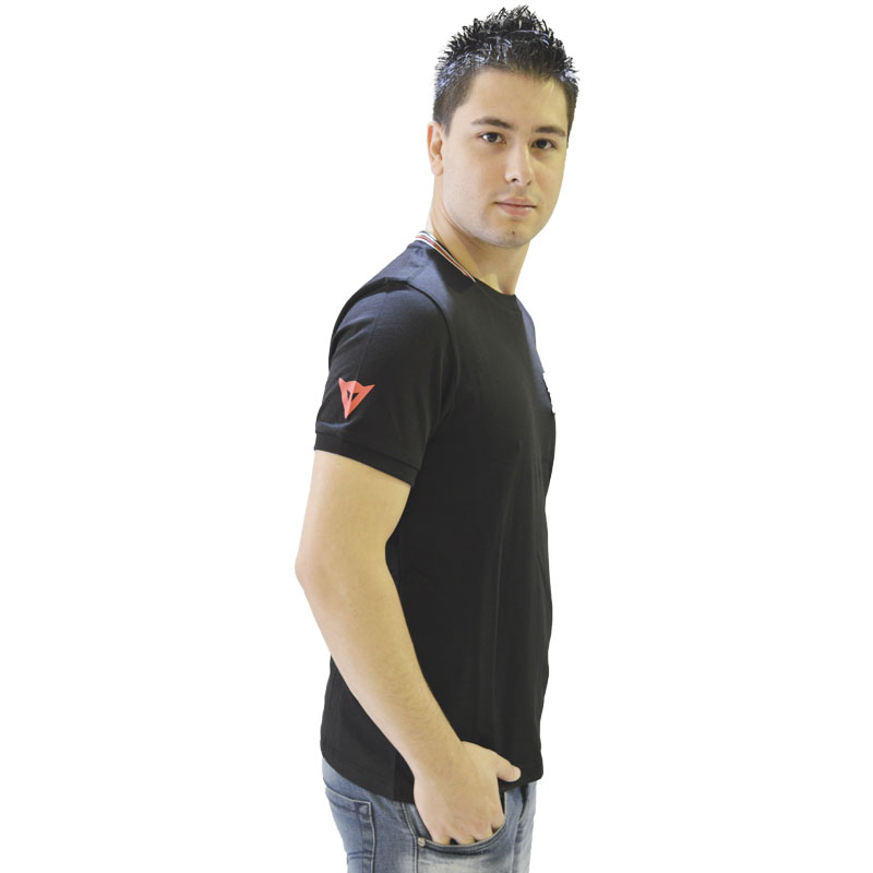Camiseta Dainese Motegi Evo S/S - Preta  - Motosports