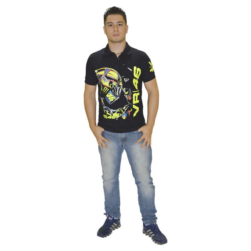 Camiseta  Polo Valentino Rossi 46  - Motosports