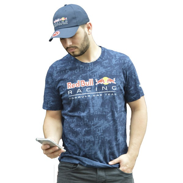 CAMISETA PUMA RED BULL RACING AZUL - Motosports
