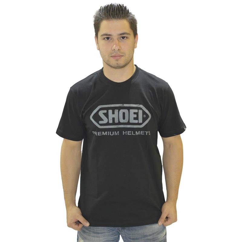 Camiseta SHOEI - Preta  - Motosports