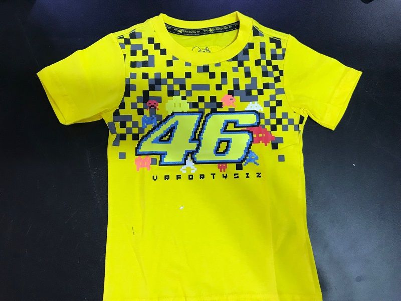 Camiseta Valentino BABY Amarelo  - Motosports