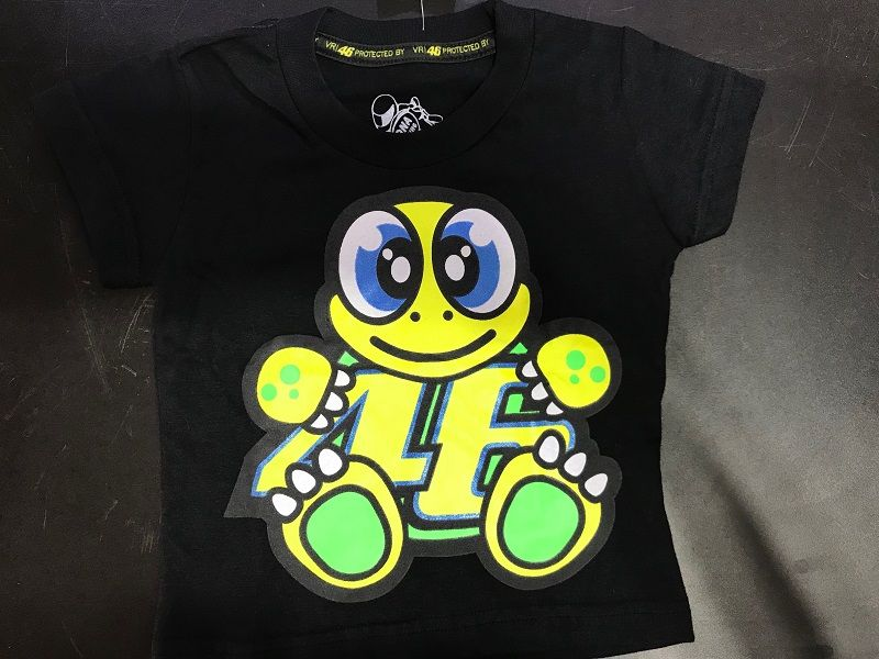 Camiseta Valentino BABY Tartaruga preto  - Motosports