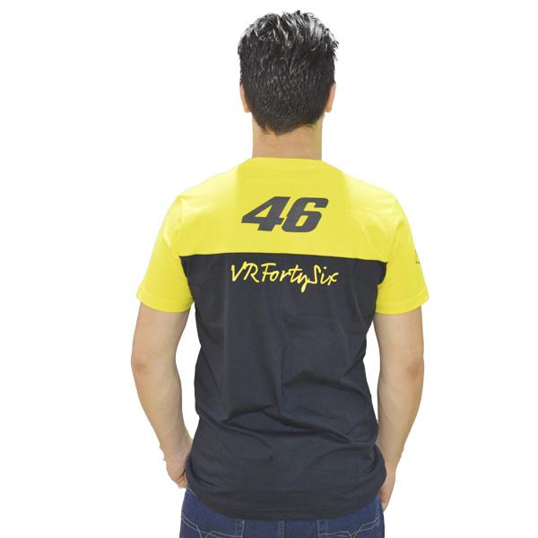 Camiseta Valentino Rossi 46 Amarela  - Motosports
