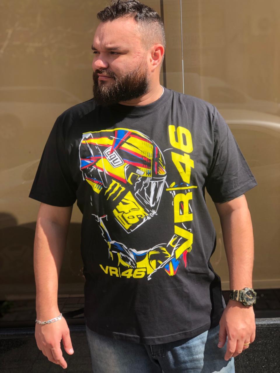 Camiseta Valentino Rossi 46 DNA/ RACING   - Motosports