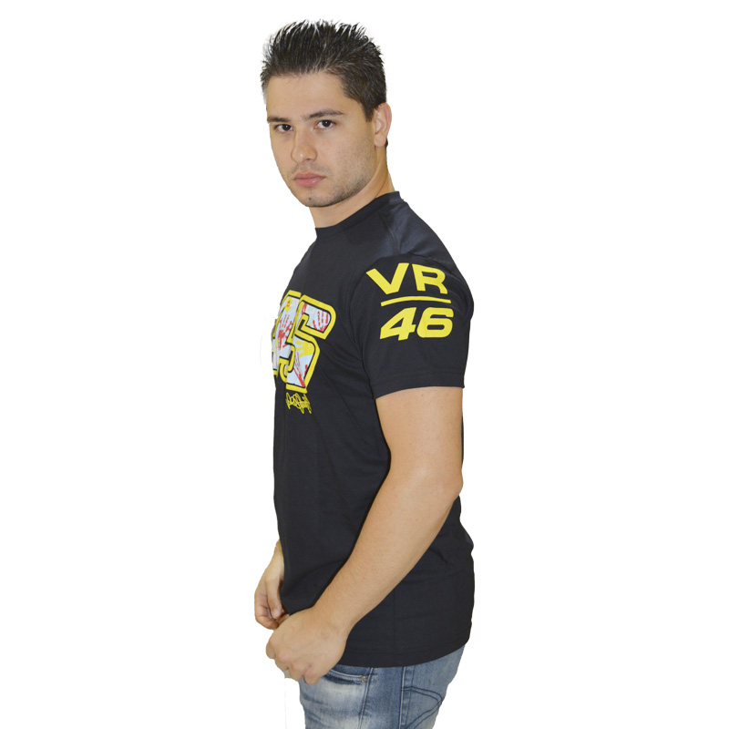 Camiseta Valentino Rossi 46 Mão  - Motosports
