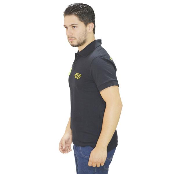 Camiseta Valentino Rossi 46  Preta   - Motosports
