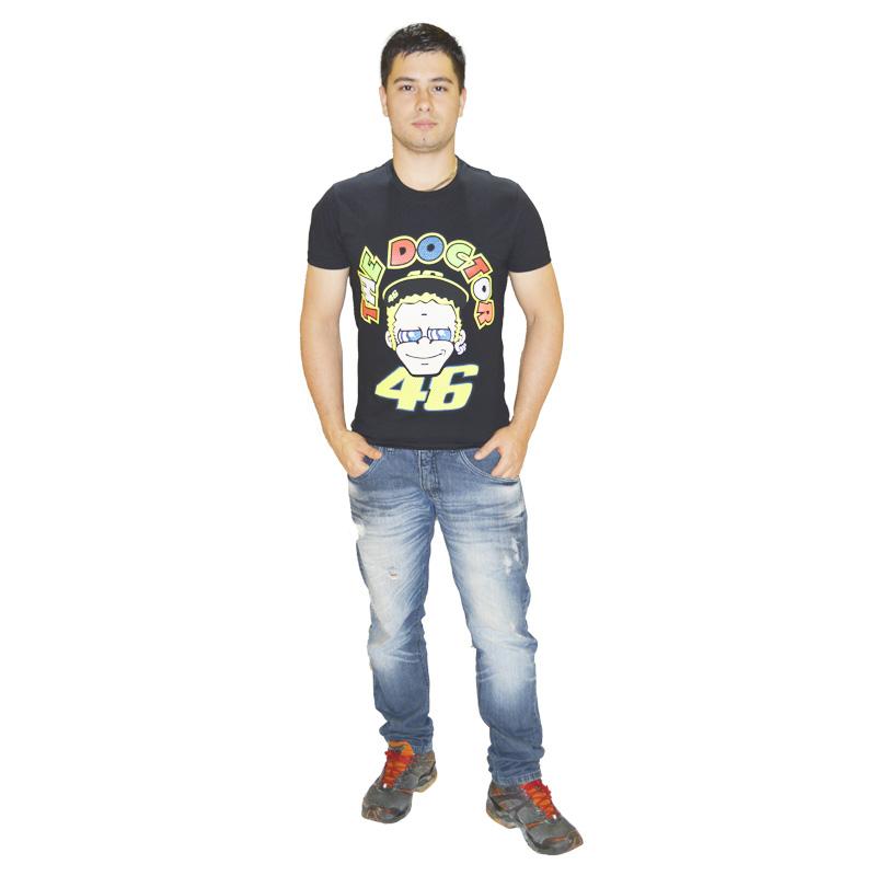 Camiseta Valentino Rossi 46 ROSTO  - Motosports