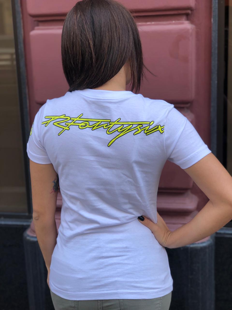 Camiseta Valentino Rossi capacete  - Feminina   - Motosports