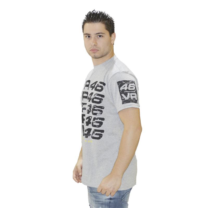 Camiseta VR46 Cinza  - Motosports