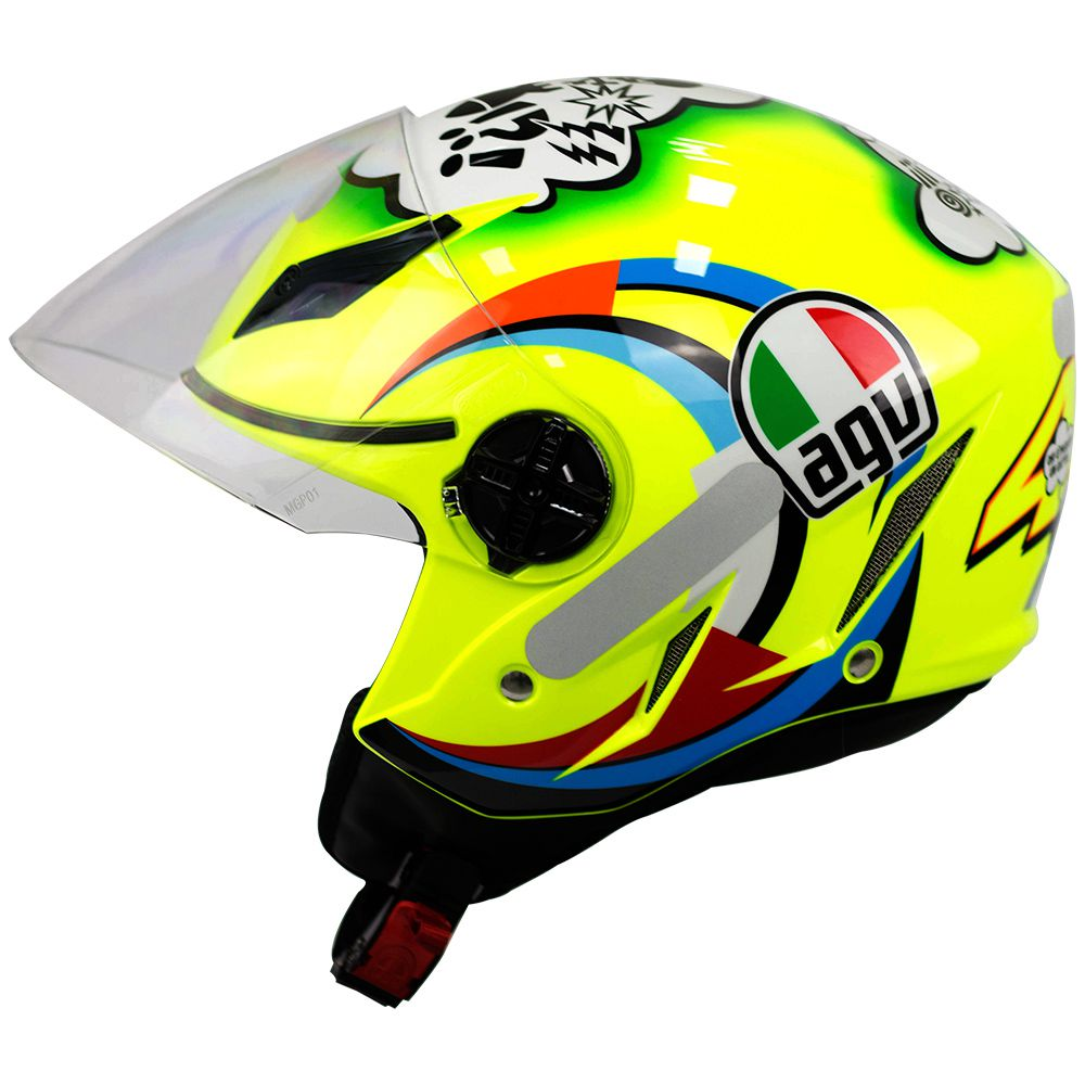 Capacete Agv Blade Misano Valentino Rossi Pronta Entrega  - Motosports